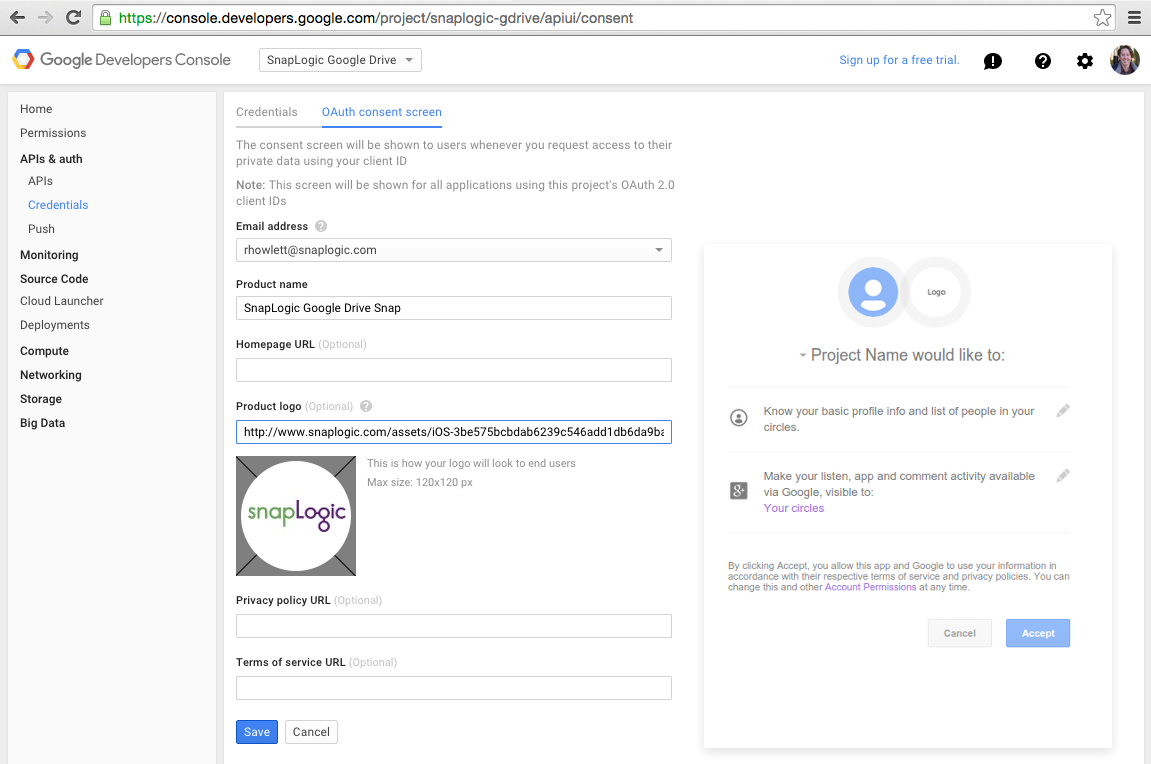 Connecting SaaS providers with SnapLogic's OAuth-enabled REST Snaps