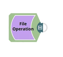 File Operation Snap Application Integration