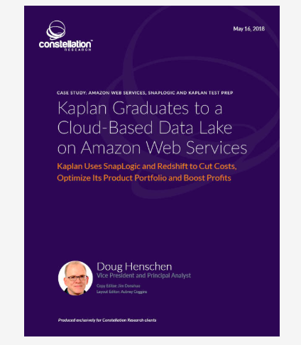 Image of Constellation Research Case Study: Kaplan Graduates to a Cloud-Based Data Lake on Amazon Web Services